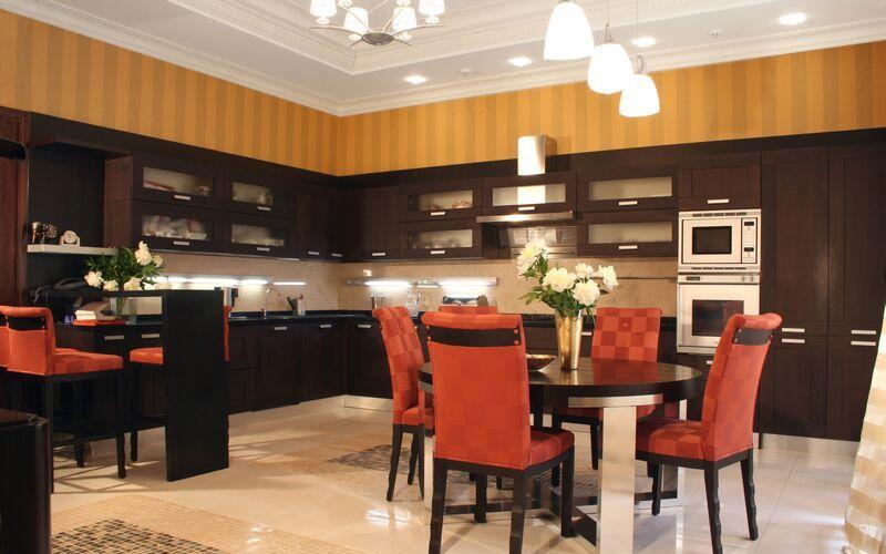 kitchen-cabinets-modern-dark-wood