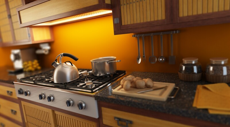 kitchen-cabinets-modern-two-tone