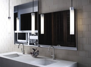 25 Modern Bathroom Mirror Designs