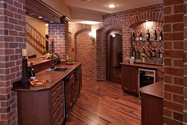 traditional-basement-idea