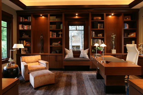 Amazing Traditional Home Office Design Ferndale Road Home