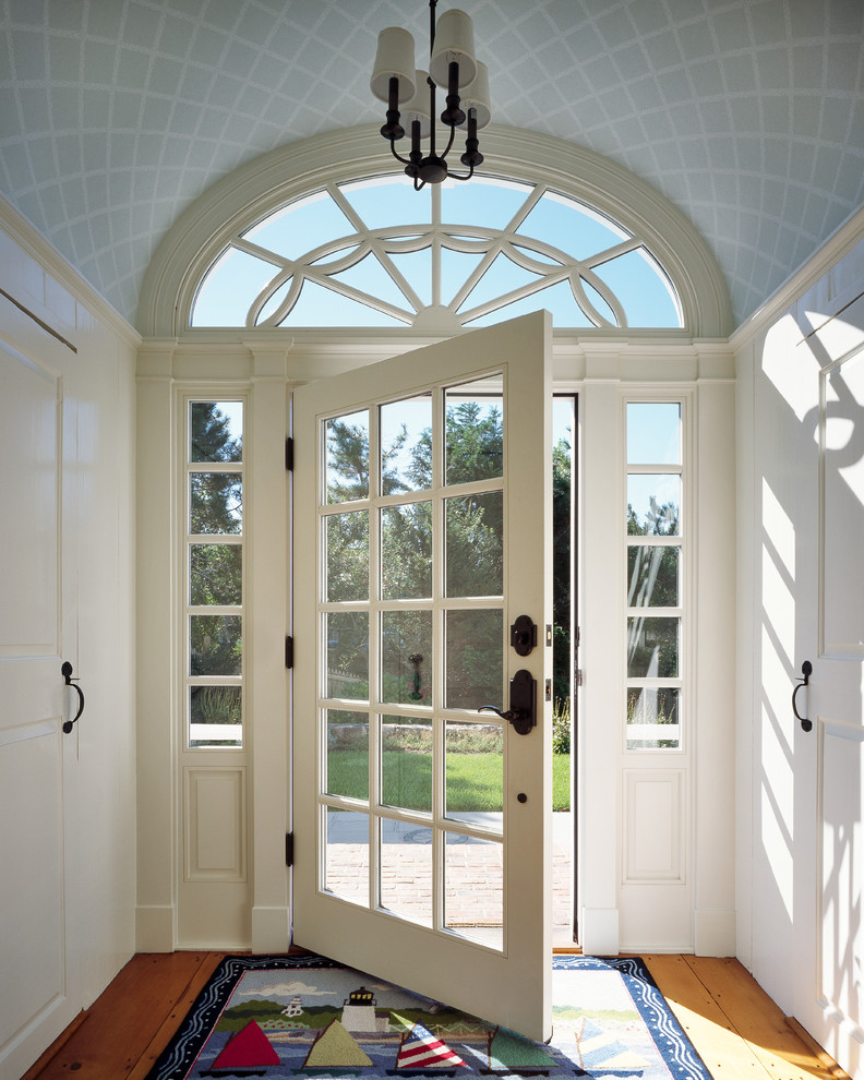 Arresting-Front-Door-home-renovations-Beach-Style-Entry-Boston