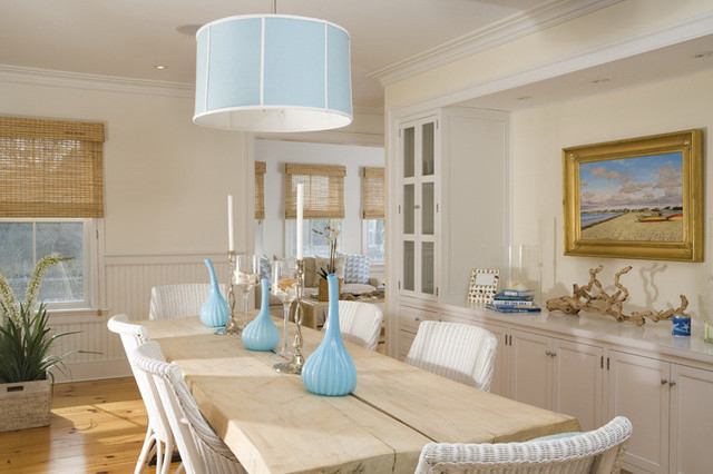 Beach Style Dining Room Design