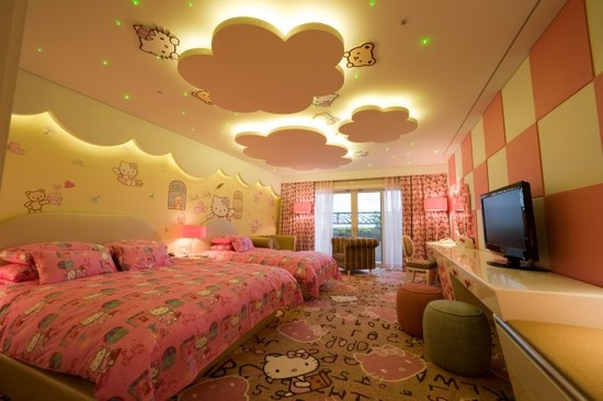 Charming-Asian-Bedroom-False-Ceilings-For-Bedrooms