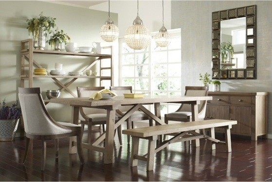 Fair-Dining-Room-Contemporary-design-ideas-for-Farmhouse-Dining-Rooms-Image-Gallery