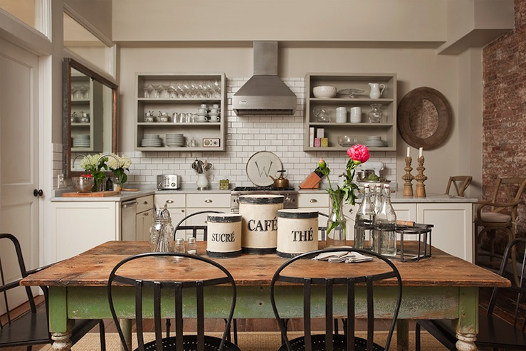 Farmhouse Dining Design