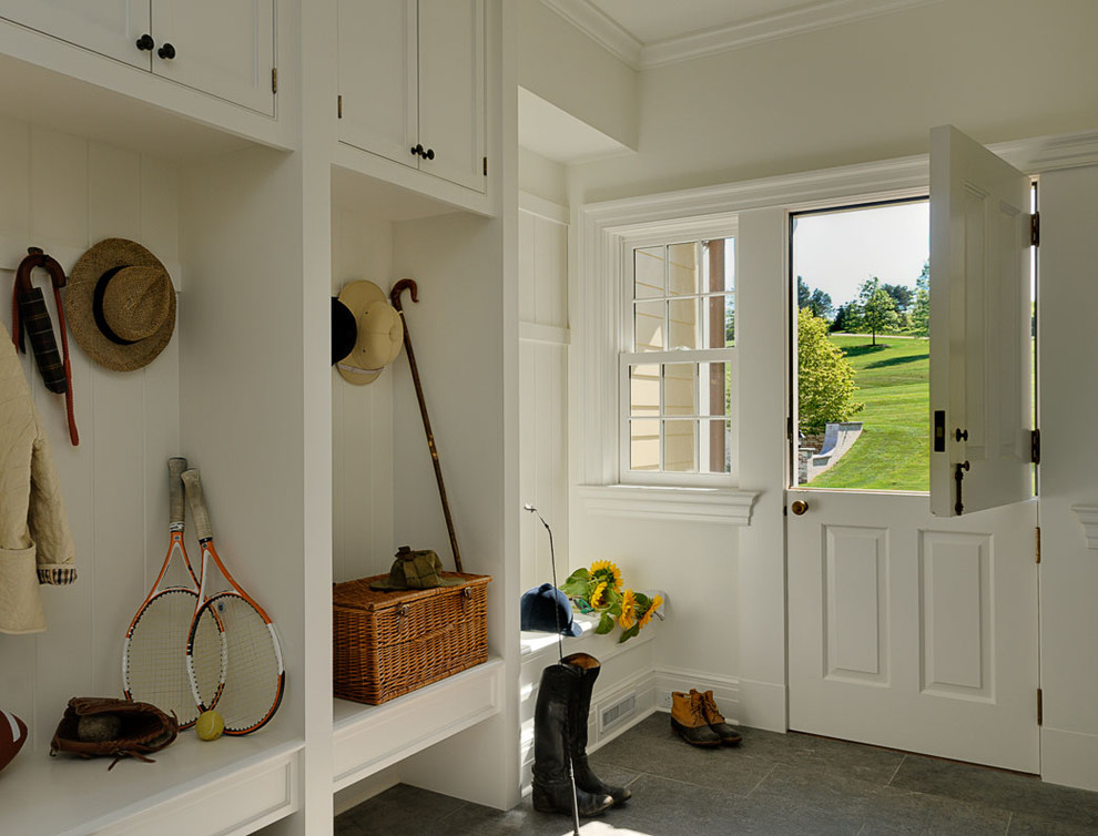 Foxy-Dutch-Door-home-interior-design-Traditional-Entry-New-York