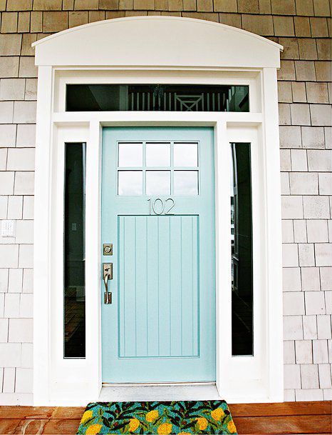 House of Turquoise - Benjamin Moore's Wythe Blue
