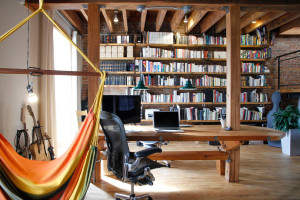 25 Amazing Industrial Home Office Design