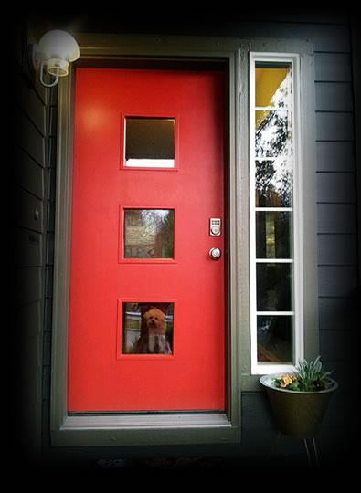 Midcentury Entry Design_