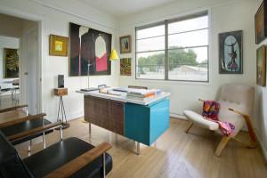 15 Marvelous Midcentury Home Office Designs