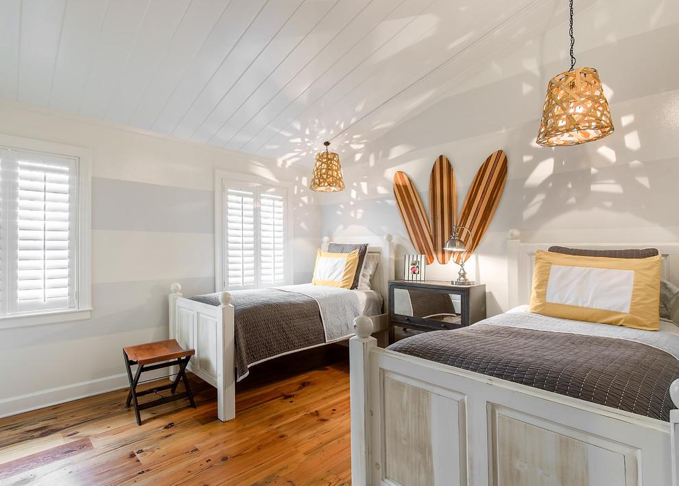 Modern Beach House Kids Room
