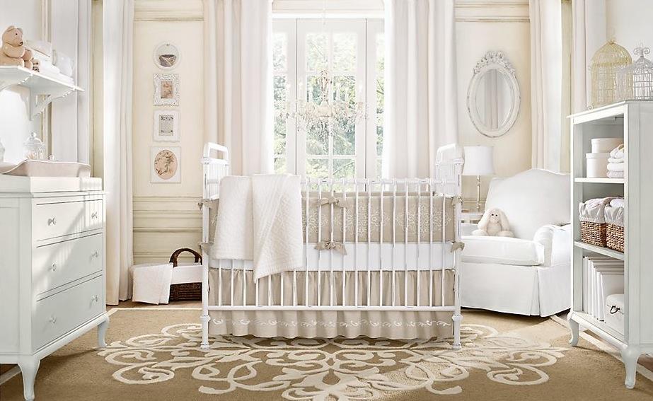 Neutral-color-baby-room-design