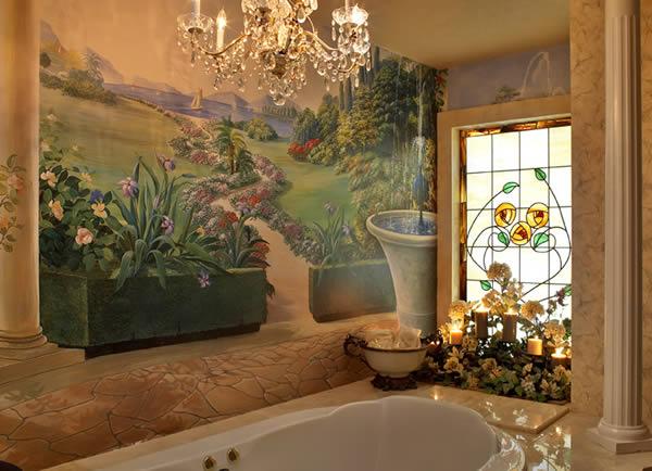 Pretty-Mediterranean-Bathroom-Designs