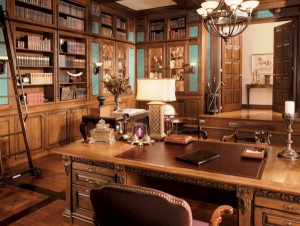 15 Creative Rustic Home Office Designs