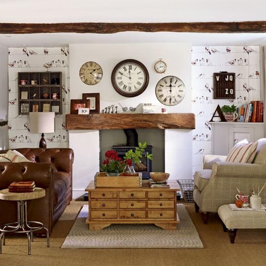farmhouse livingroom design