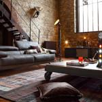 25 Amazing Industrial Living Design