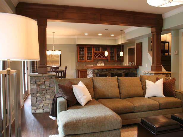 modern-basement-remodel-sofa-kitchen