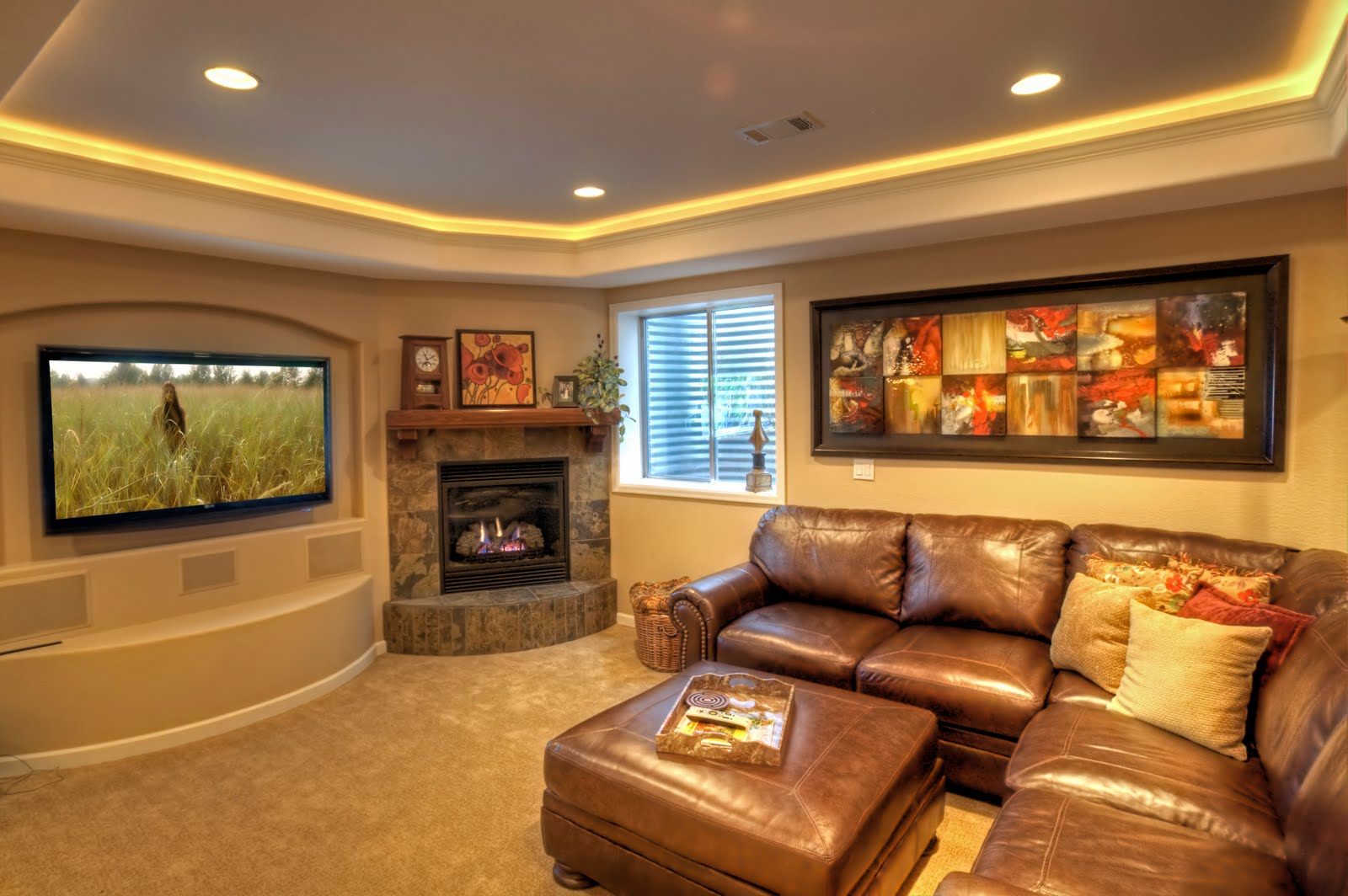 pictures-of-basement-ceiling-ideas
