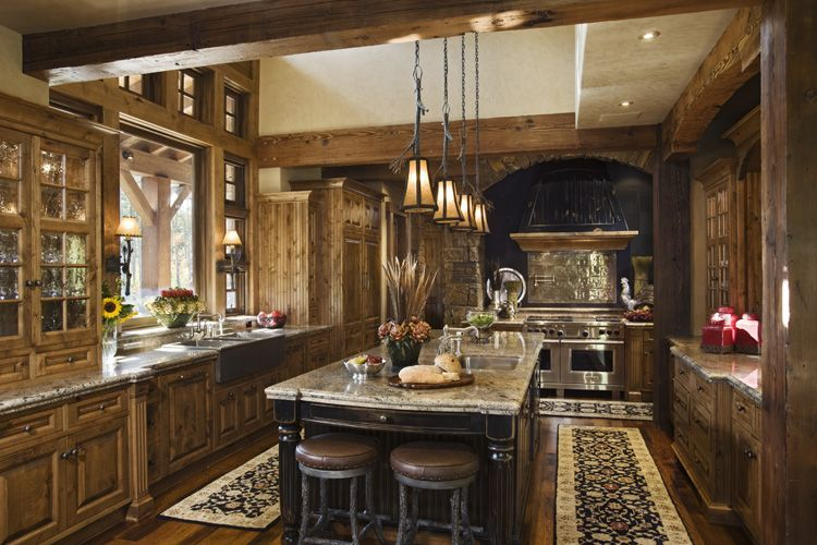 rustic-traditional-house-design-in-ontario-kitchen