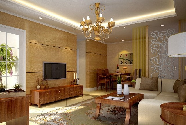 simple-ceiling-decorating-ideas-for-homes-with-beautiful-lamp