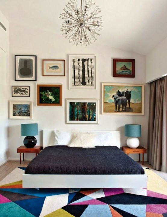 small-bedroom-ideas mid-century-interior