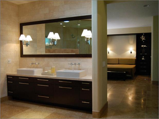 transitional bathroom- designs