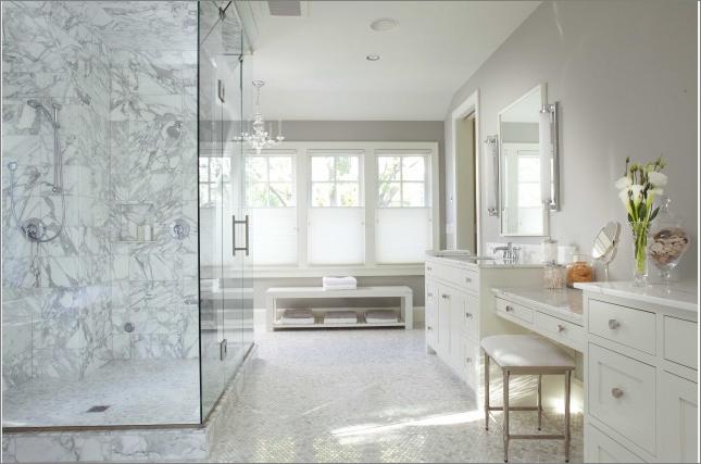 transitional bathroom designs{