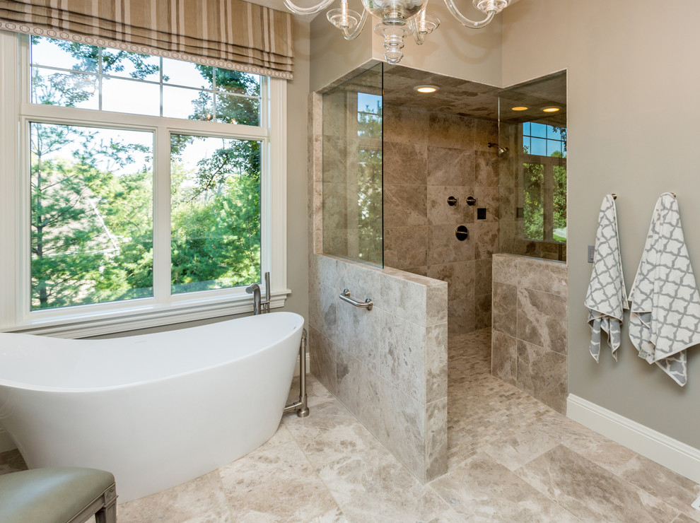 Comely-Bathroom--Open-Walk-In-Shower-Designs-Decorating-Ideas