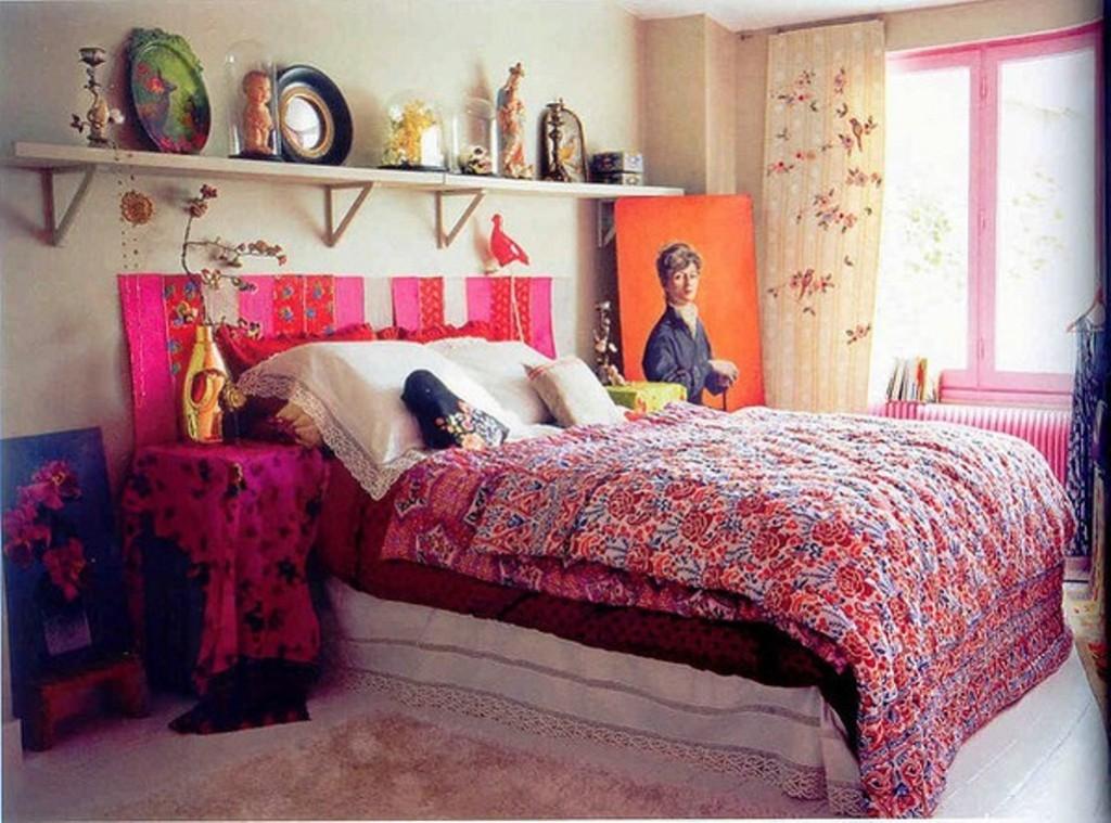Cool-Bohemian-Bedroom
