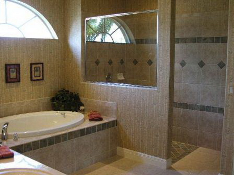 Cool-Doorless-Walk-In-Shower-Designs