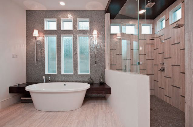 Glamorous-Bathroom-Design-with-Sleek-Bathtub-and-Walk-in-Shower