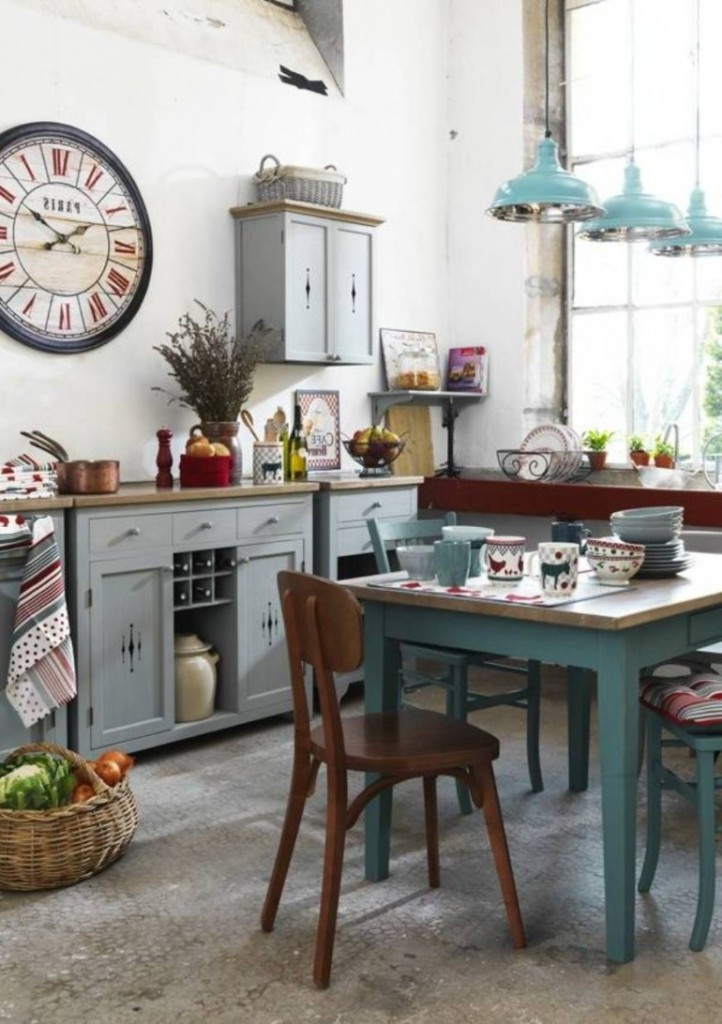 Shabby-Chic-Kitchen-Ideas-With-Small-Table-Shabby-Chic-Kitchen-