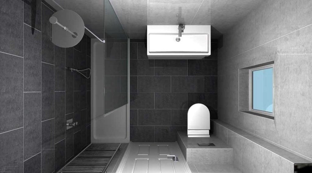 creative-small-bathroom-designs-walk-shower-