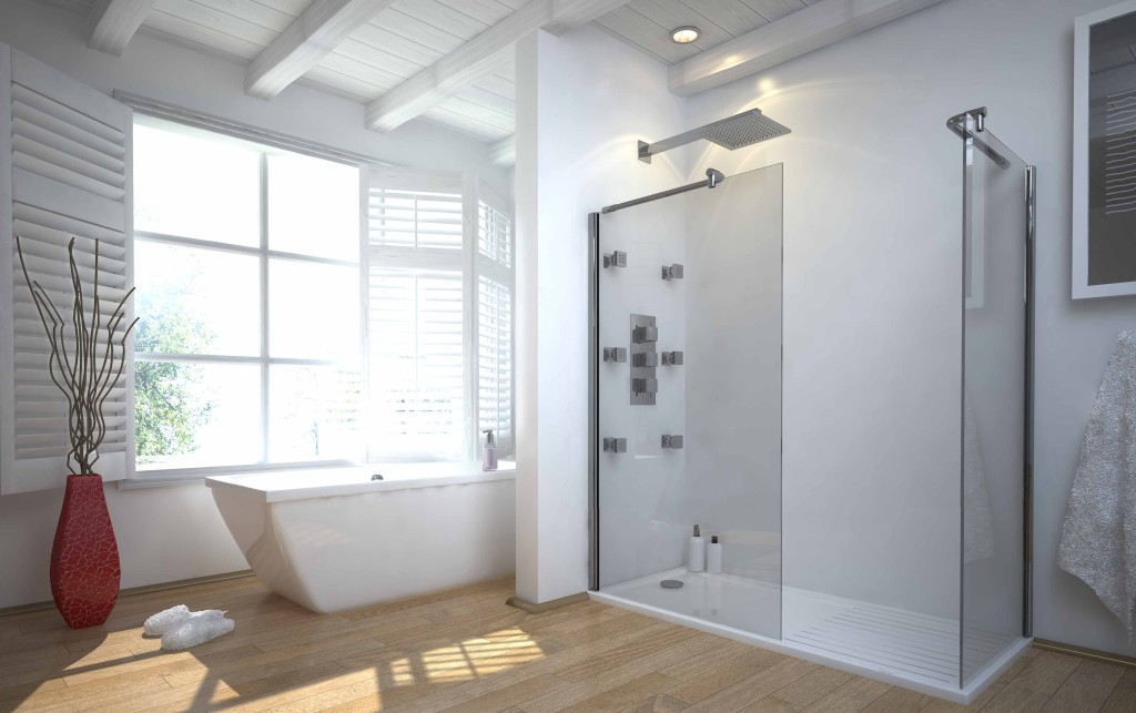 doorless-walk-in-shower-designs
