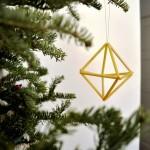 9 Super Simple Modern DIY Christmas Decorations