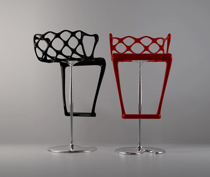 Waffle-bar-stool-by-Lydia-Kolomijets