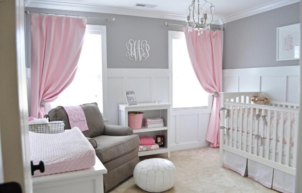 baby-girl-nursery-present-small-crystal-chandelier
