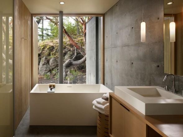 bathroom-interior-design-with-concrete-walls-