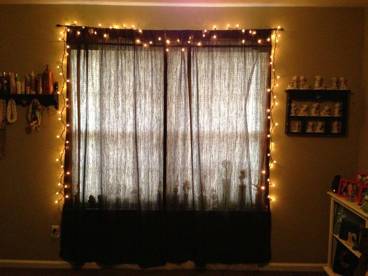 bedroom-string-lights- ideas