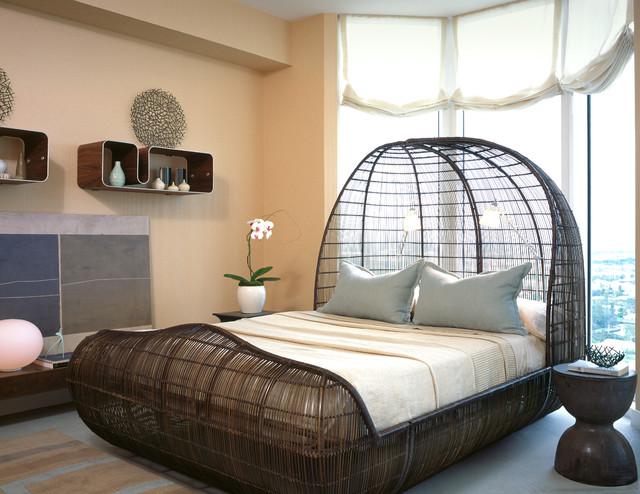 contemporary-bedroom ___