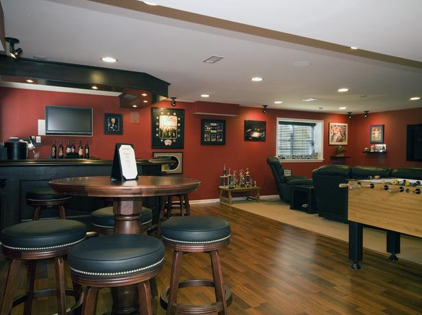 lounge_worthy_basements_small_game_room_ideas_