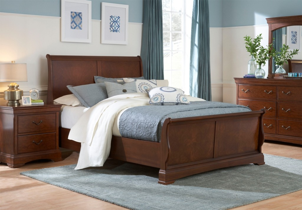 sleigh-bed-bedroom-sets-