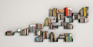 18 Zigzag Book Shelf Design Ideas