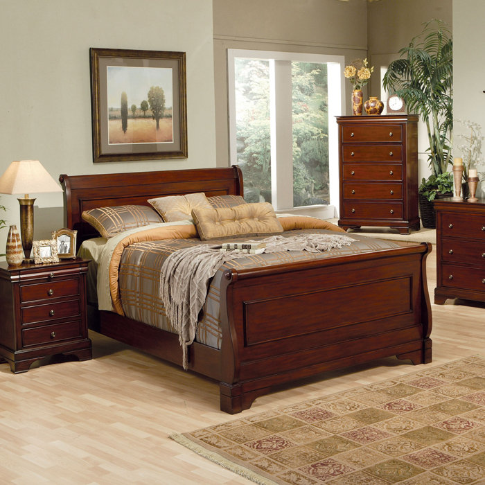 tufted-sleigh-bed-frame