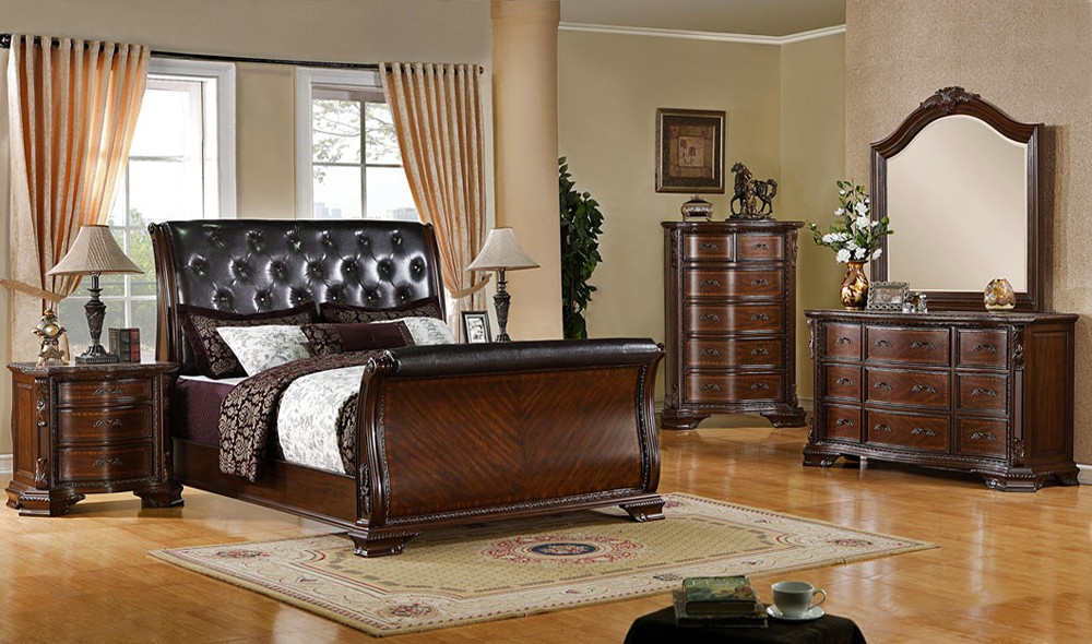tufted-sleigh-bed