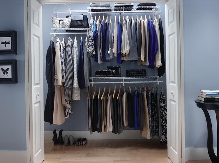 wire shelving closet designs