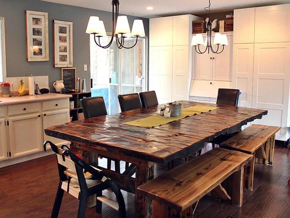 Contemporary-reclaimed-wood-dining-table-los-angeles
