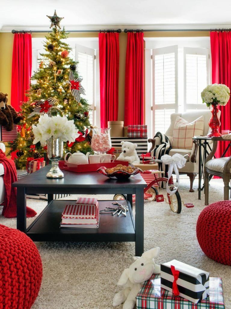 Holiday-House-red-black-white-decor-vert