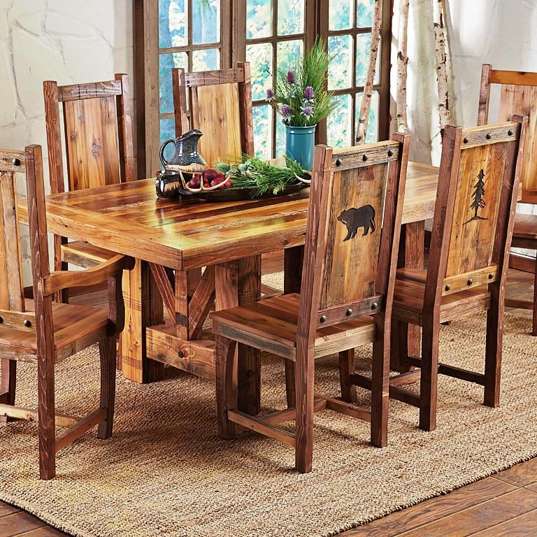 trestle-dining-table-with-reclaimed-wood
